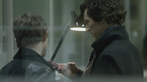 Sherlock-1x03 - benedict-cumberbatch Screencap