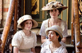 Sisters Edith, Mary and Sybil - downton-abbey photo