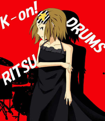 Tainaka Ritsu wallpaper containing anime called TAINAKA RITSU