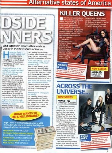 TV Guide (UK) - Lisa Edelstein Interview
