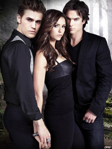 The Vampire Diaries TV Show wallpaper containing a business suit titled TVD - Season 2 (HQ)