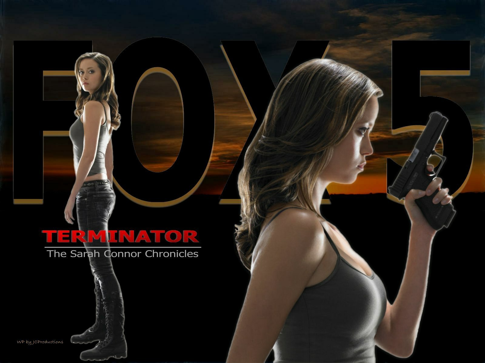 Terminator  The Sarah Connor Chronicles on Fox 5 summer glau 15905305 1600 1200 ... and read short stories to 150 or 200 people, with those in attendance ...