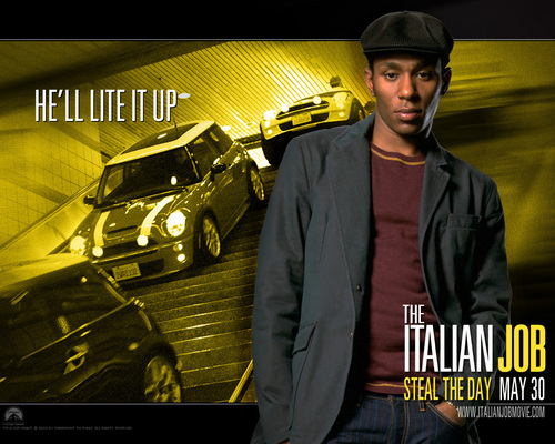 Action Films wallpaper probably with a business suit and a carriageway entitled The Italian Job