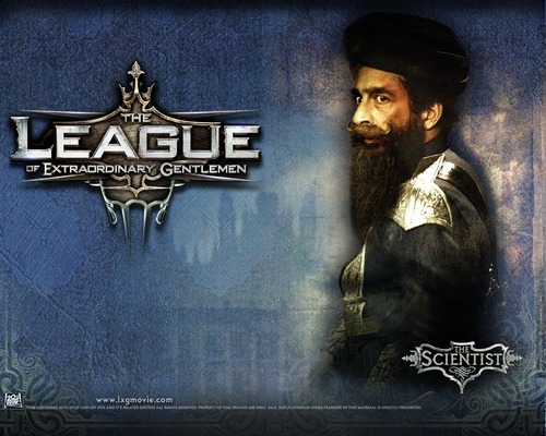 Action Films wallpaper with a sign called The League of Extraordinary Gentlemen