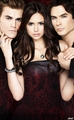 The Vampire Diaries Cast - New HQ - stefan-and-elena photo
