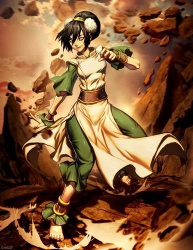 The older more powerful toph!! - toph Fan Art