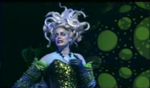 Ursula on stage