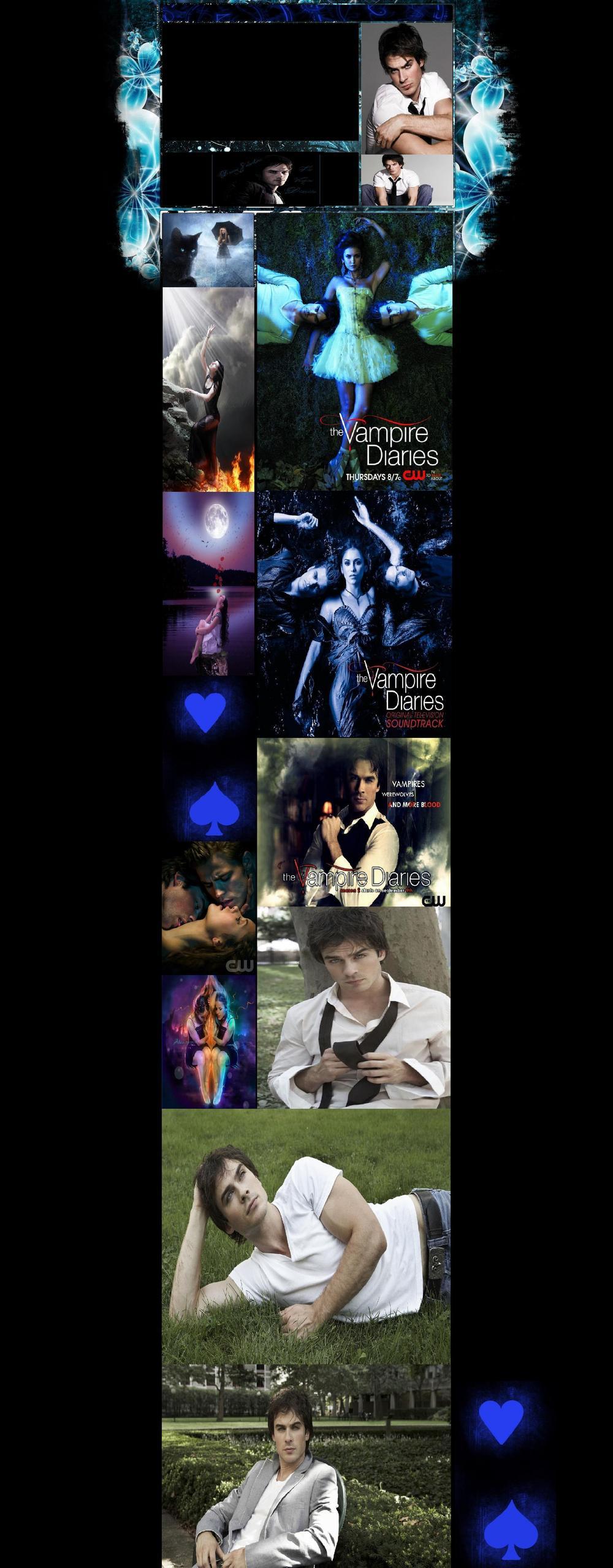 Vampire diaries यूट्यूब background