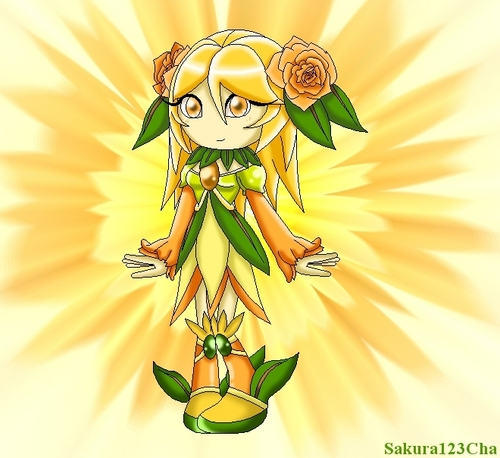 Girl sonic fan characters wallpaper titled Vermillion The Seedrian