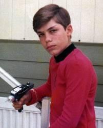 Vic as a kid