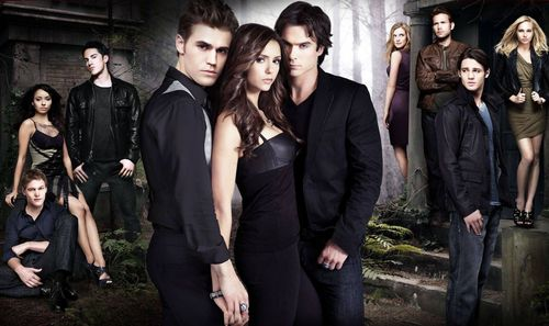 Hintergrund The Vampire Diaries