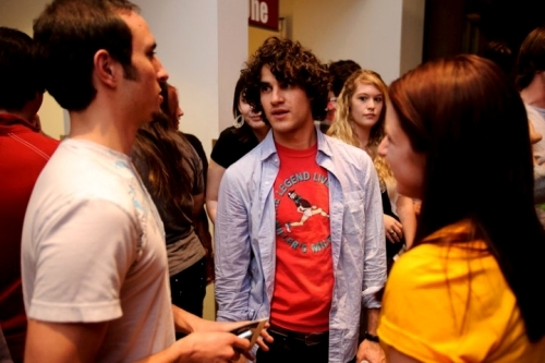 Yeah, it's Darren Criss
