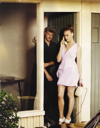Yvonne Strahovski in the August 2010 Issue of InStyle Magazine
