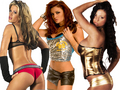 ashley, maria ,candice - maria-kanellis wallpaper