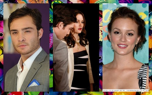 Gossip Girl wallpaper possibly containing a portrait entitled chuck e blair
