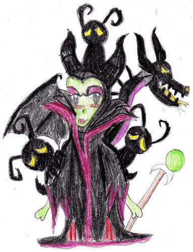 maleficent with heartless