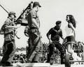 raquel groovin' with the enlisted at viet nam - raquel-welch photo