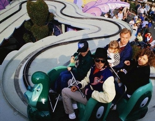 rare pic: MJ HAVING FUN