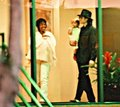 rare pics 4 prince and paris in 1998