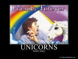 scary unicorn