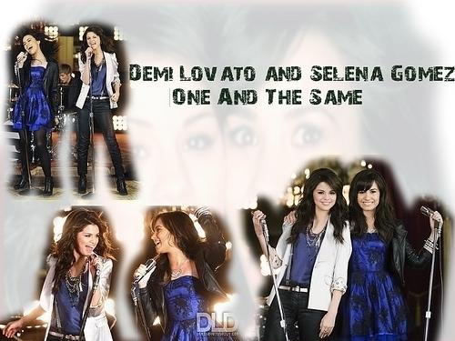 selena and demi......
