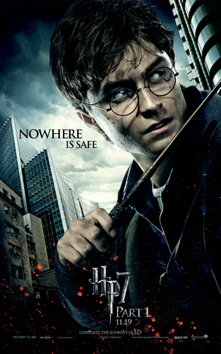 the Deathly Hallows Part 1 Posters