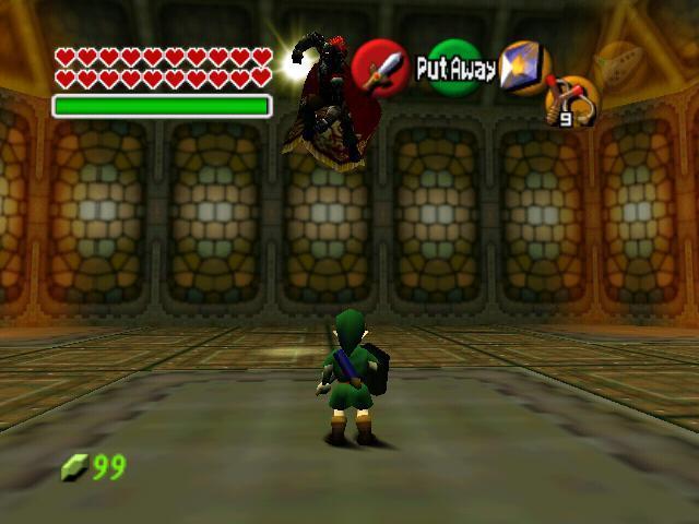 Young Link Vs Ganon La Leyenda De Zelda Image 15986202