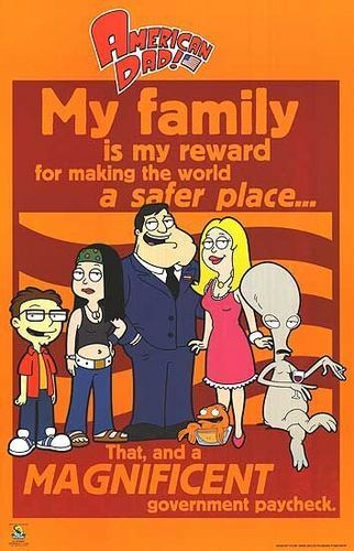 'American Dad' Poster