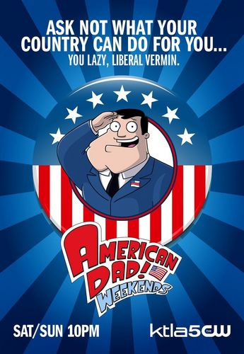 American Dad! wallpaper titled 'American Dad' Poster