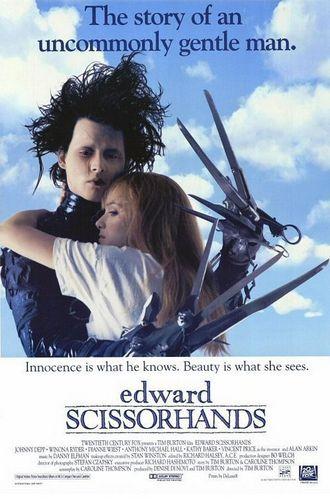 'Edward Scissorhands' Poster