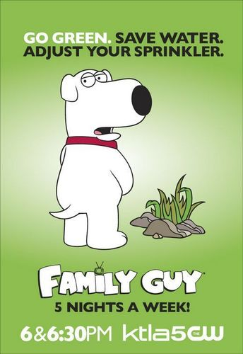 'Family Guy' Eco Poster ~ Brian