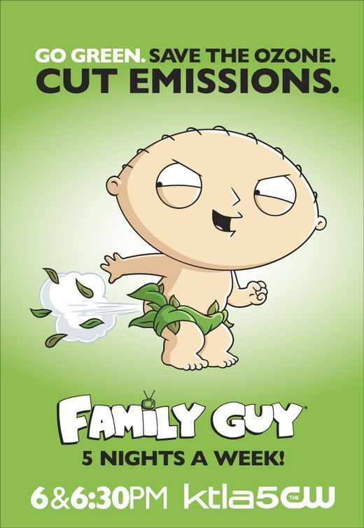 'Family Guy' Eco Poster ~ Stewie