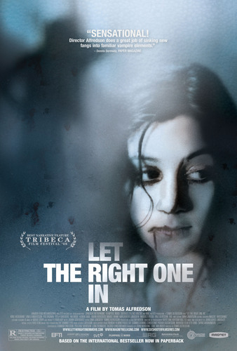 Let the Right One In wallpaper probably with anime titled 'Let The Right One In' Poster