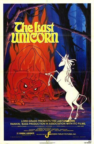 'The Last Unicorn' Poster