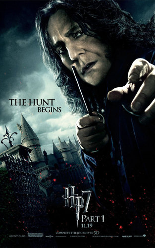 Alan as Snape in Harry Potter & the Deathly hallows I