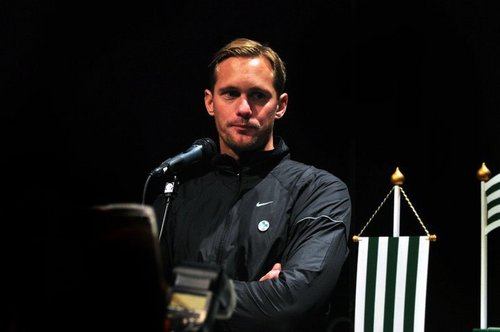 Alexander Skarsgard - Bajen Aid Auction, October 2nd, 2010