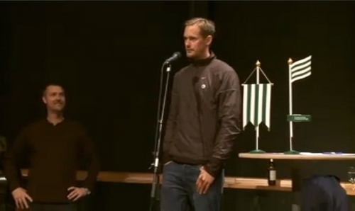 Alexande Skarsgard - Bajen Aid Auction, October 2nd, 2010 - true-blood Photo