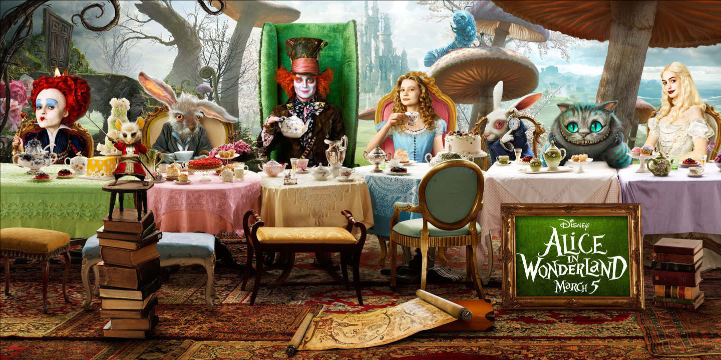 Alice In Wonderland 2010 Photo