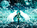 Angel Miku - vocaloids wallpaper