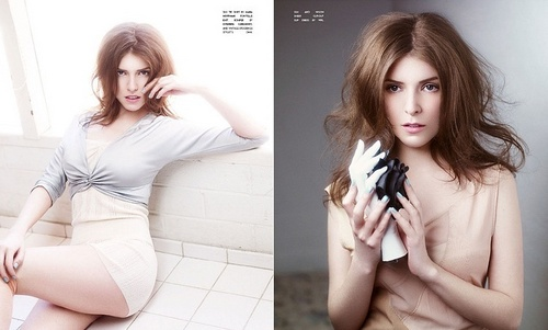 Anna Kendrick at the Flaunt Magazine