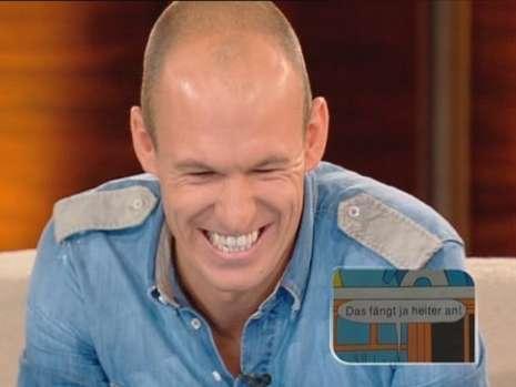 Arjen Robben por Wetten dass...?