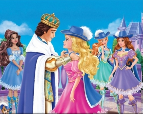 Barbie Movies images Barbie and the three musketeers ...