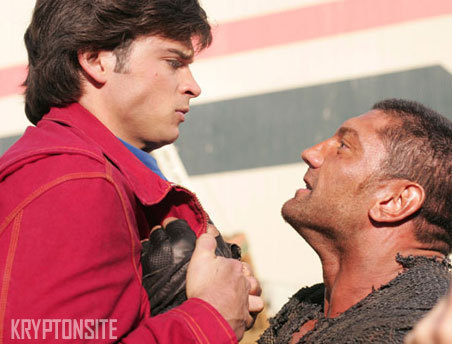 バティスタ(Batista) -Smallville season 6 episode 8