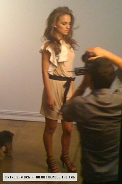 Behind The Scenes - British Elle Photoshoot (February 2010)