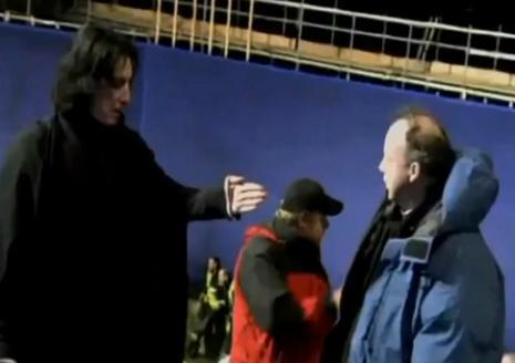alan rickman fondo de pantalla entitled Behind the scenes of Harry Potter - Alan Rickman
