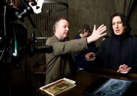 Behind the scenes of Harry Potter - Alan Rickman