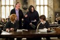 Behind the scenes of Harry Potter - Alan Rickman - severus-snape photo