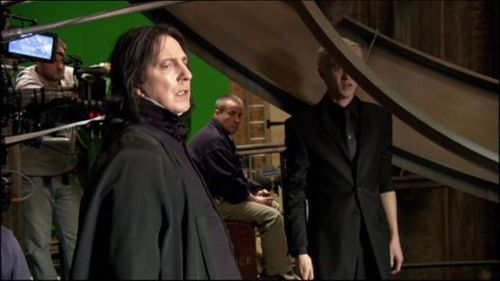 Severus Snape wallpaper entitled Behind the scenes of Harry Potter - Alan Rickman