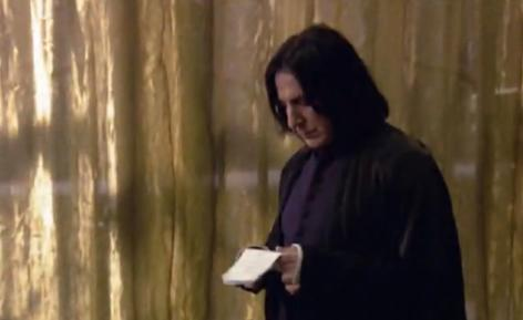Severus Snape wallpaper titled Behind the scenes of Harry Potter - Alan Rickman
