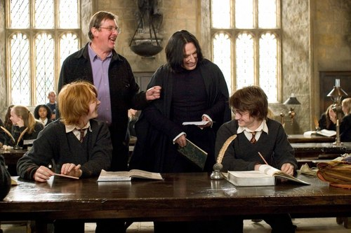 Severus Snape wolpeyper with a pab called Behind the scenes of Harry Potter - Alan Rickman